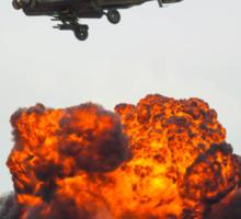 Apache Hellfire Strike Sticker