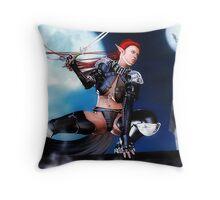 The Night Hunter Throw Pillow