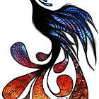Fiery Phoenix by themighty