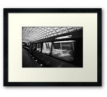 Metro 4 Framed Print