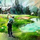Golf In Crans-Sur-Sierre 01 by Goodaboom
