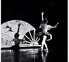 Shadow Dancing (B&W) Photographic Print