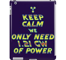 1.21 GW of Power iPad Case/Skin