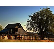 Small Town Barn, Levan, UT Photographic Print