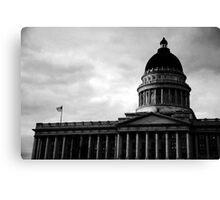 Utah State Capitol Building, Salt Lake City, UT Canvas Print