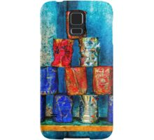 Soup Cans - Square Meal Samsung Galaxy Case/Skin