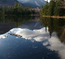 Marcy Dam and Mt. Colden by Justin Seymour