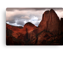 Kolob Canyon, Zion National Park Canvas Print