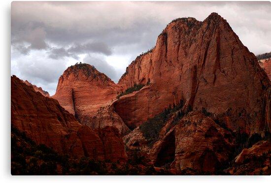 Kolob Canyon, Zion National Park, Utah by Ryan Houston