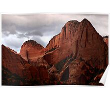 Kolob Canyon, Zion National Park, Utah Poster