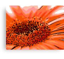 Inviting - Woodcut Canvas Print
