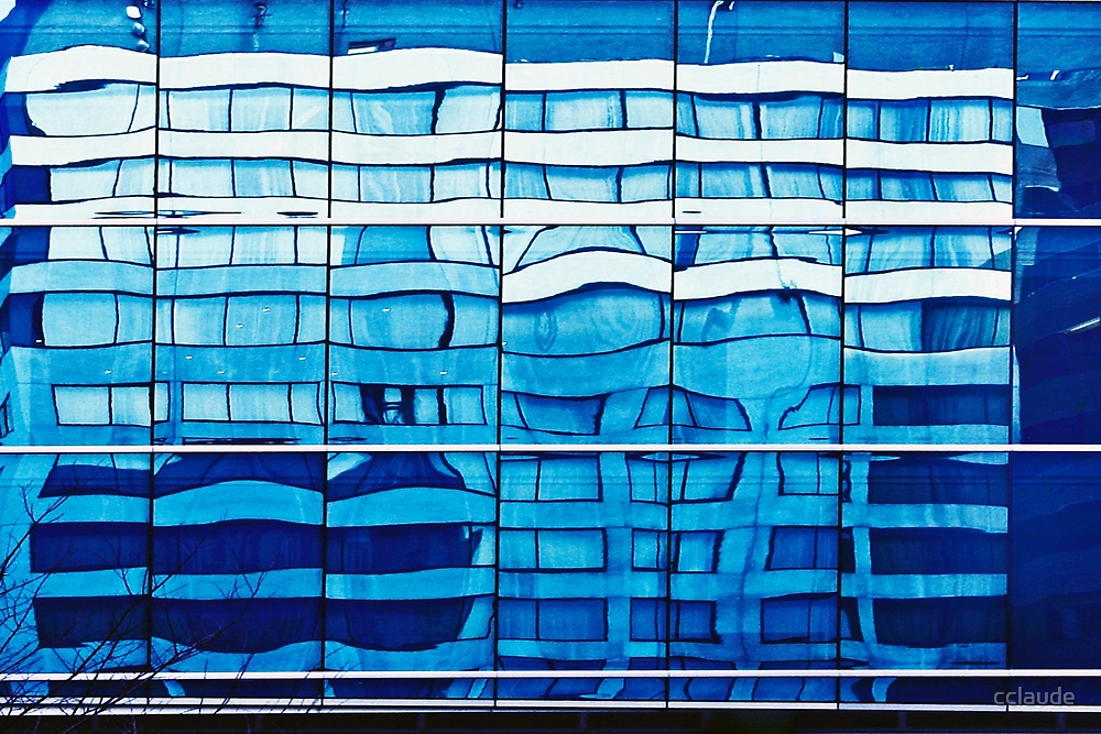 Blue reflection by cclaude