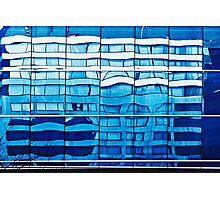 Blue reflection Photographic Print