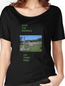 Free animals Women's Relaxed Fit T-Shirt