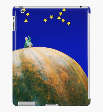 Star Watching On Pumpkin iPad Case/Skin