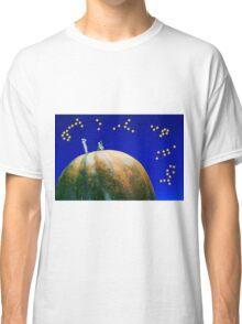 Star Watching On Pumpkin Classic T-Shirt