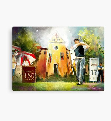 Golf In Club Fontana In Austria 01 Canvas Print