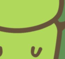 Cute Green Squirrel Sticker