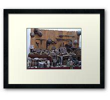 Memories of War  Framed Print