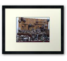 Memories of War  Framed Print