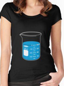 beaker elixir (blueberry) Women's Fitted Scoop T-Shirt