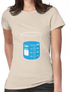 beaker elixir (blueberry) Womens Fitted T-Shirt