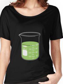 beaker elixir (lime) Women's Relaxed Fit T-Shirt