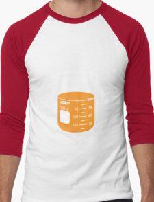 beaker elixir (orange) Men's Baseball ¾ T-Shirt