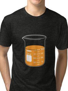beaker elixir (orange) Tri-blend T-Shirt