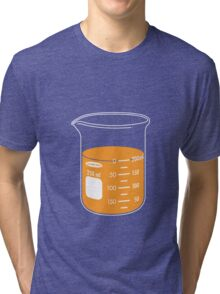 beaker elixir (orange) Tri-blend T-Shirt