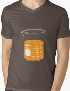 beaker elixir (orange) Mens V-Neck T-Shirt