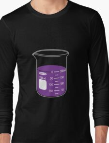 beaker elixir (grape) Long Sleeve T-Shirt
