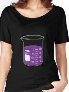 beaker elixir (grape) Women's Relaxed Fit T-Shirt