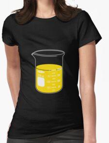 beaker elixir (lemon) Womens Fitted T-Shirt