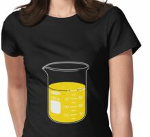 beaker elixir (lemon) Womens Fitted T-Shirt