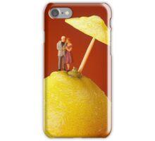 A Couple In Lemon Rain iPhone Case/Skin