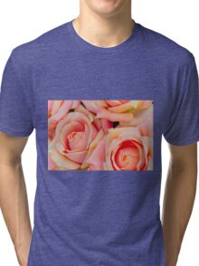 roses art of cloth Tri-blend T-Shirt