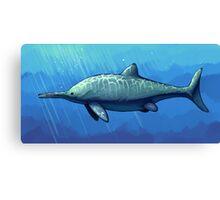 Ichthyosaurus communis Canvas Print