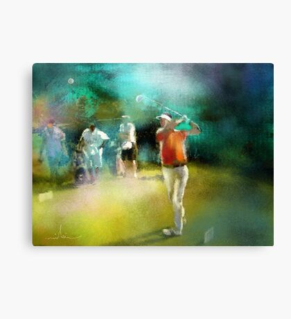 Golf In Club Fontana In Austria 03 Canvas Print