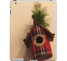 Red little home iPad Case/Skin