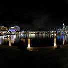 Darling Harbour Fisheye by Bill Fonseca