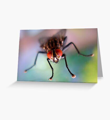RedBubbleitis Eyes Greeting Card