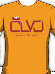 """WINE & GOLD"" ROYAL TEE - CLVD® T-Shirt"
