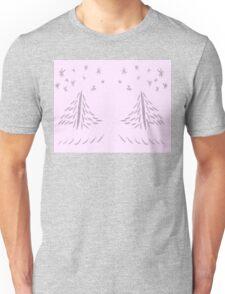 Pinked Xmas Tree Unisex T-Shirt