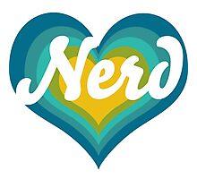 Retro NERD Photographic Print