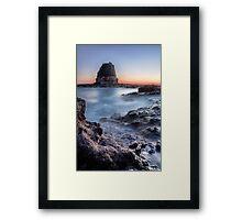Pulpit Rock, Cape Schanck Framed Print