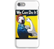 Lucy the Riveter - We Can Do It! iPhone Case/Skin