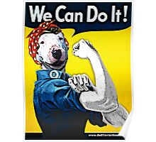 Lucy the Riveter - We Can Do It! Poster