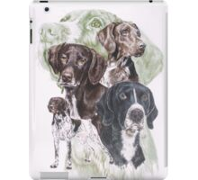 German Short-Haired Pointer /Ghost iPad Case/Skin