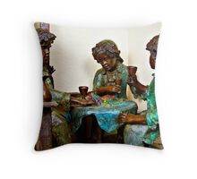 Pixie Picnic Throw Pillow